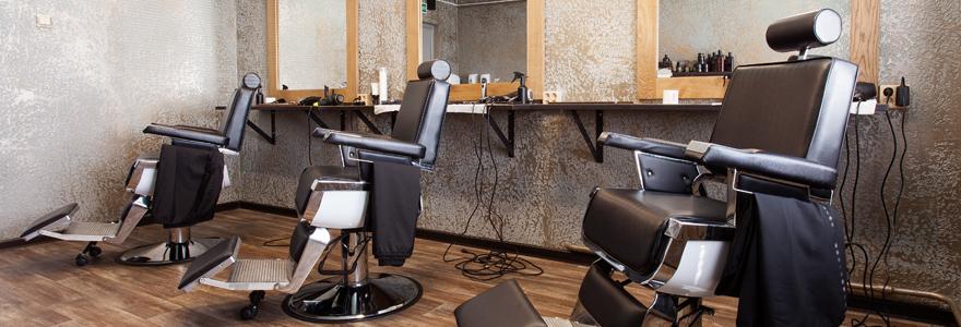mobilier de coiffure salon moderne