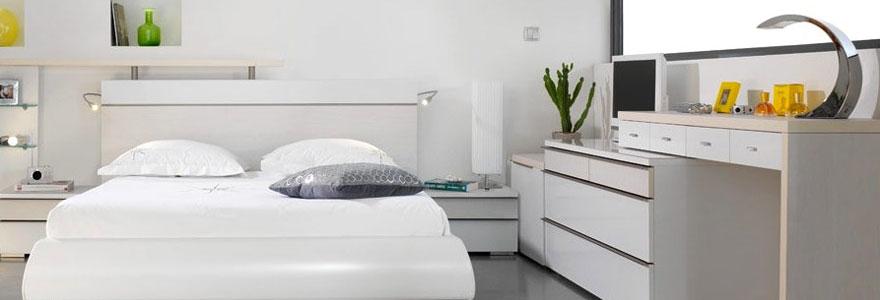 rangement de la chambre à coucher